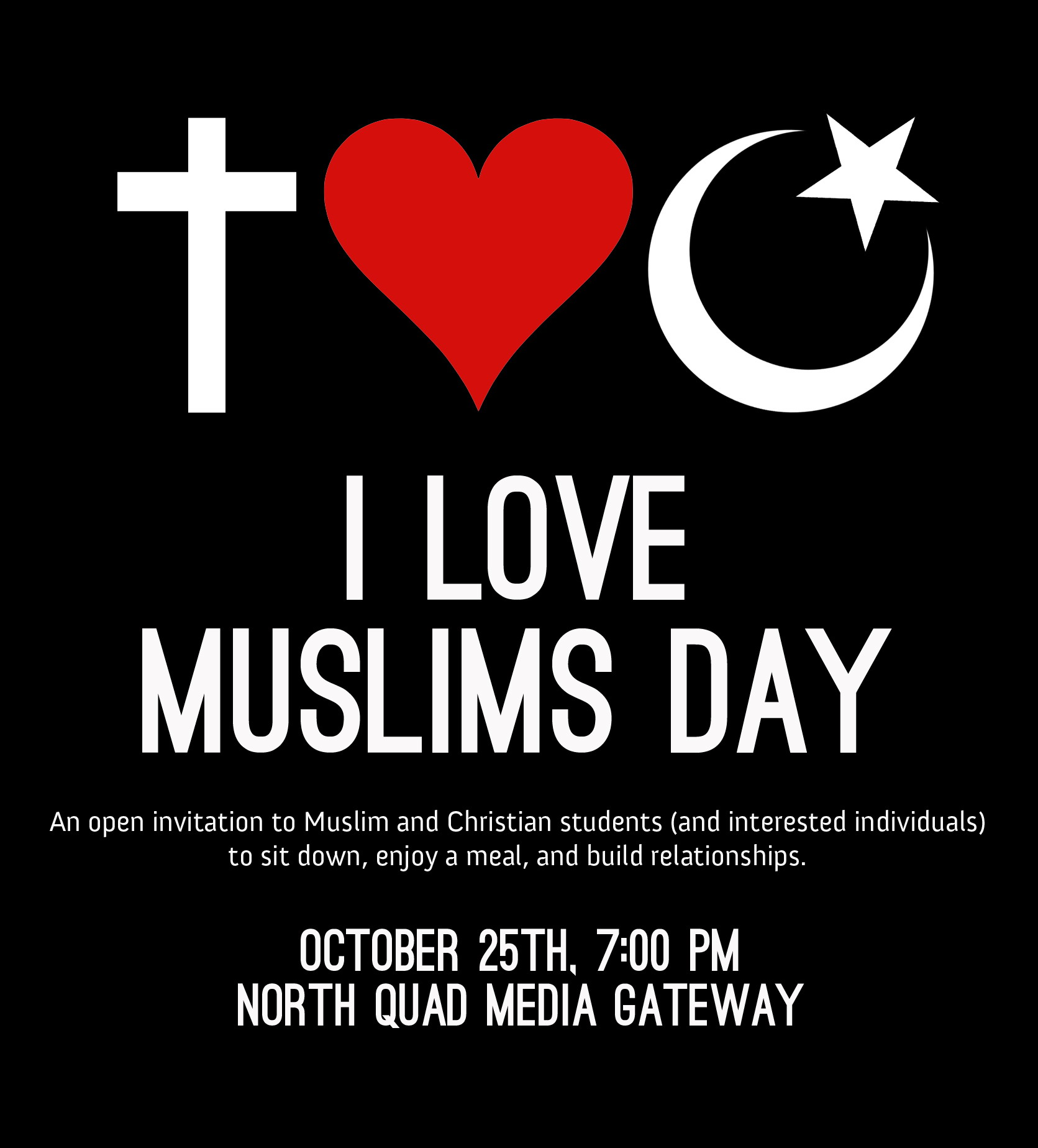 loving muslim God loves muslims muslims are loved by god in the same way that he loves all people like all humans, muslims are created in the image of god (genesis 1:26-27) like all.